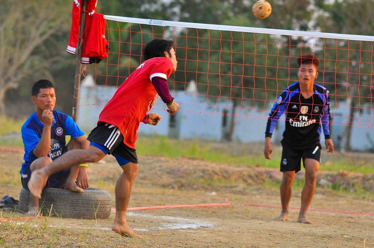Takraw played in Thailand
